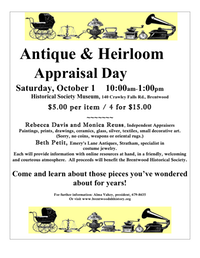 Antique-Heirloom Appraisal 2016 poster 3